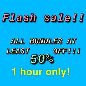 ALL BUNDLES OF 2+ ITEMS 50% OFF OR MORE